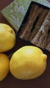 lemons and vetiver